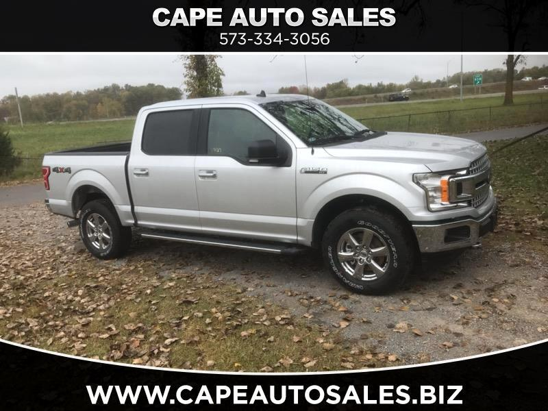2019 Ford F-150 XLT SuperCrew 6.5-ft. Bed 4WD