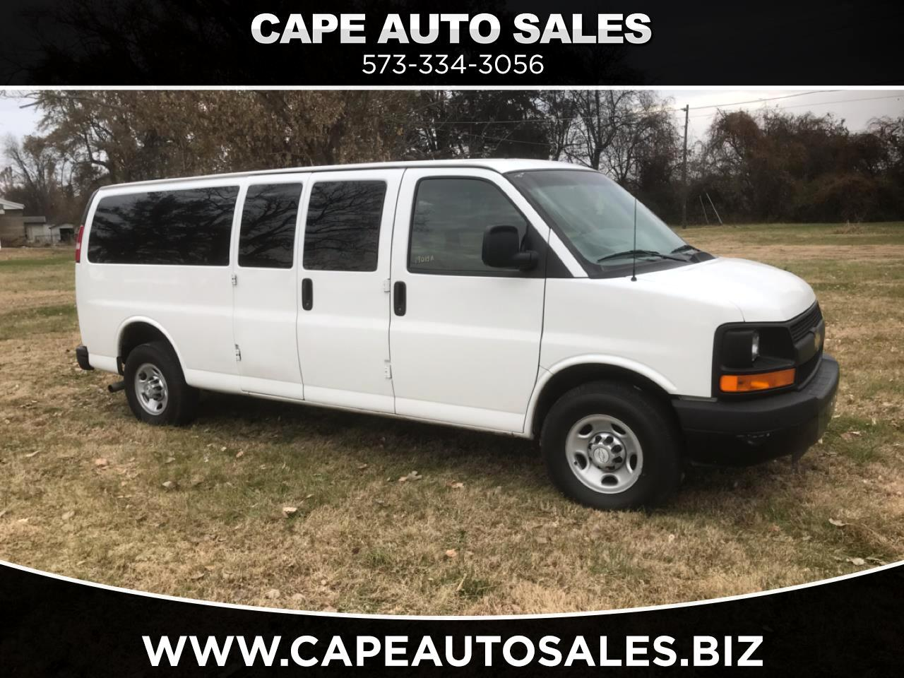 2016 Chevrolet Express LS 3500 Extended