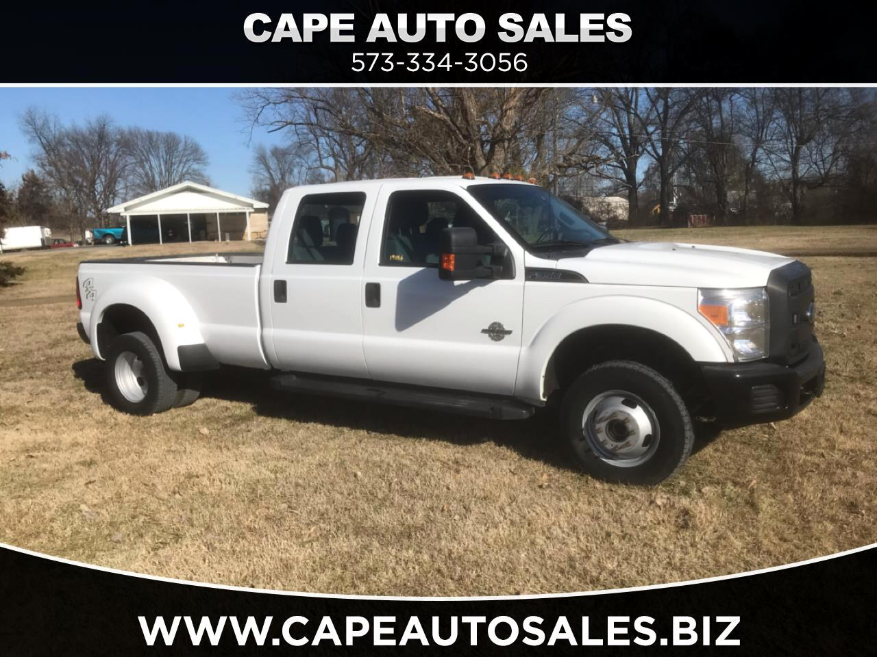 Ford F-350 SD XLT Crew Cab Long Bed DRW 4WD 2013