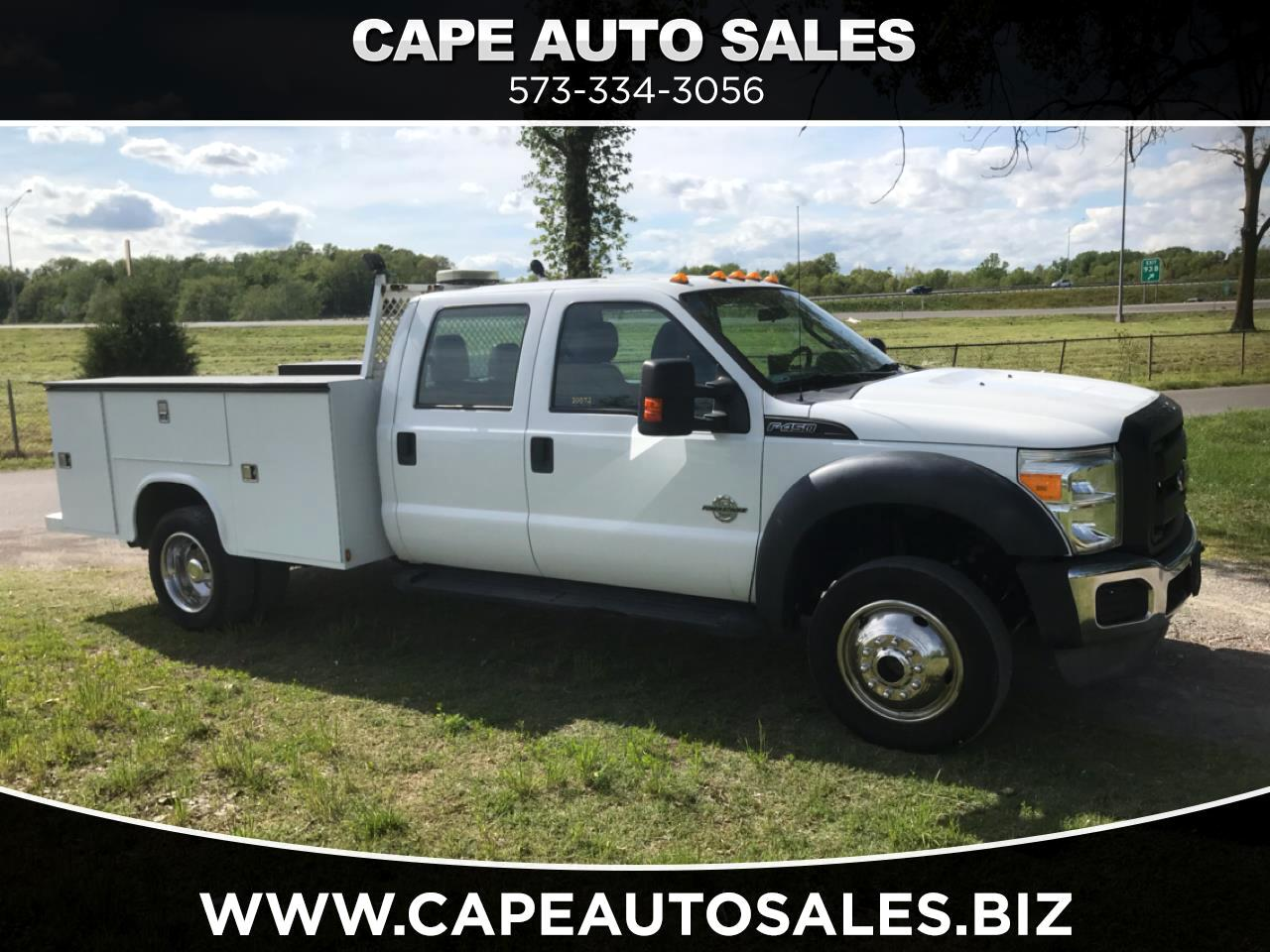 Ford F-450 SD Crew Cab DRW 4WD 2013