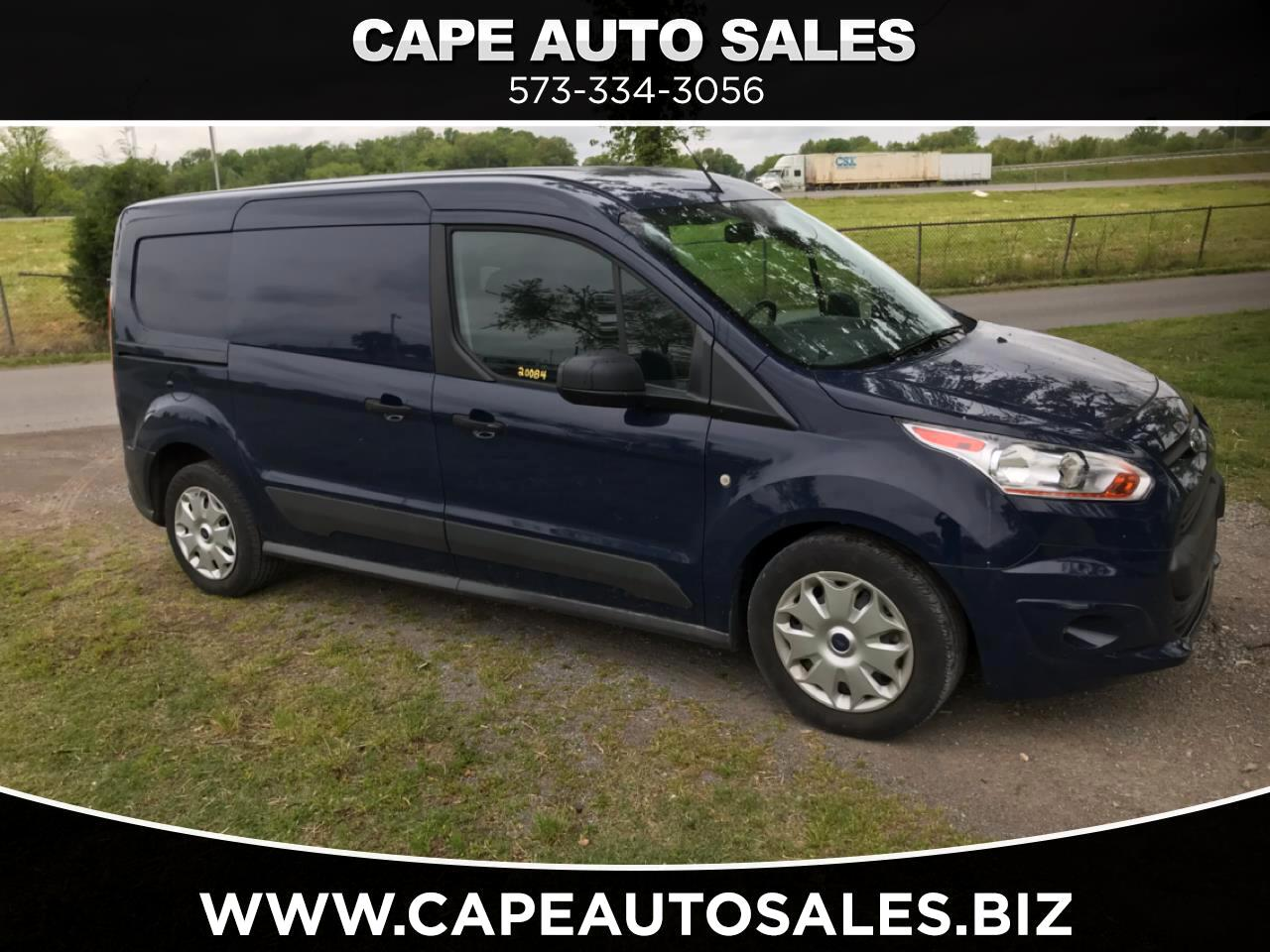 Ford Transit Connect Van XLT LWB w/Rear Symmetrical Doors 2018