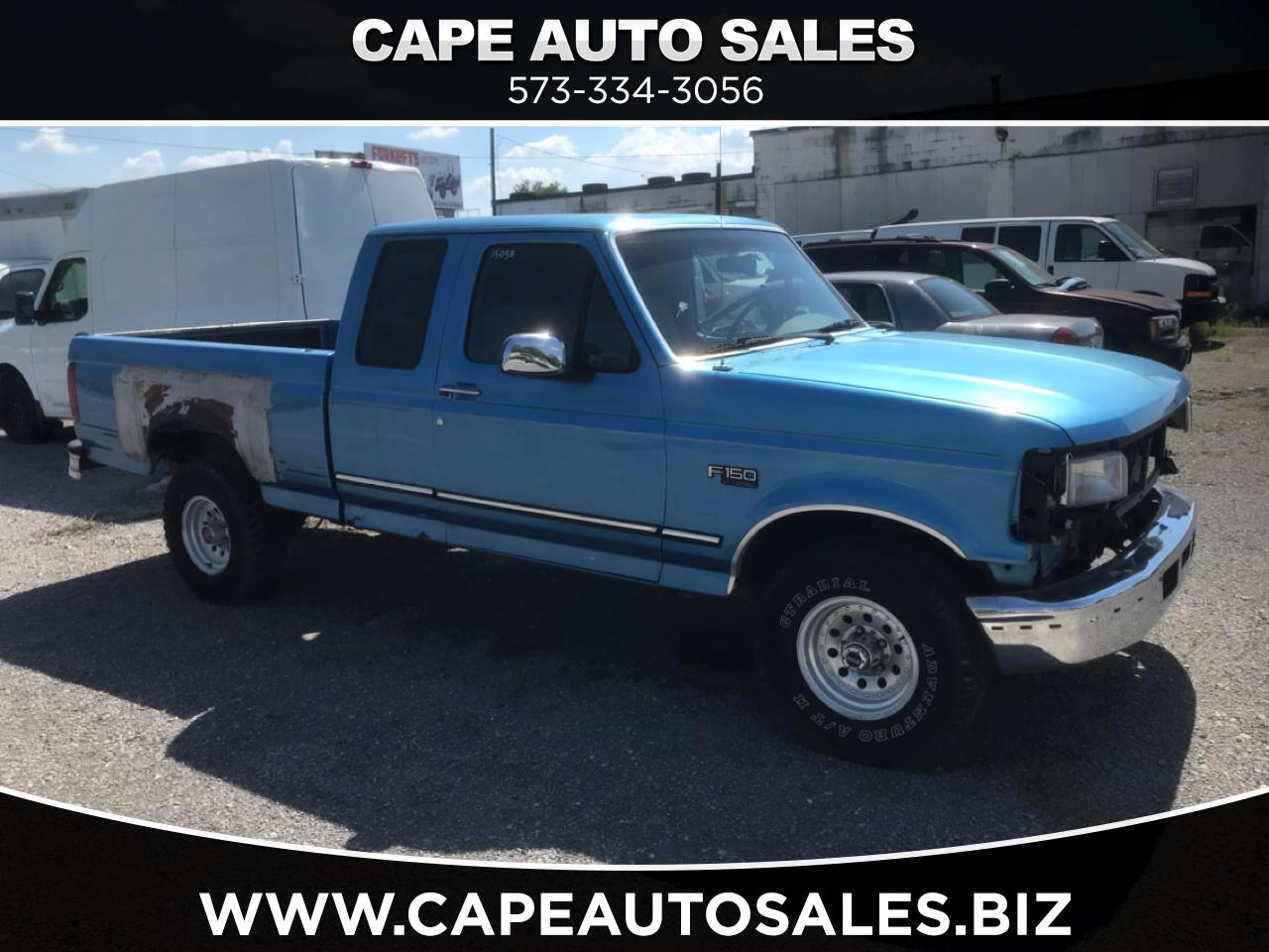 Ford F-150 Custom SuperCab Short Bed 4WD 1992