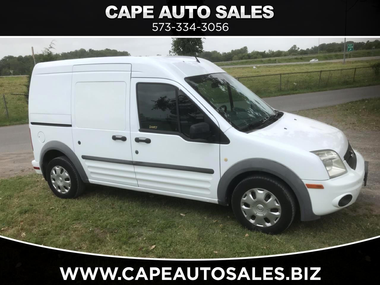 Ford Transit Connect XLT with Side and Rear Door Glass 2010