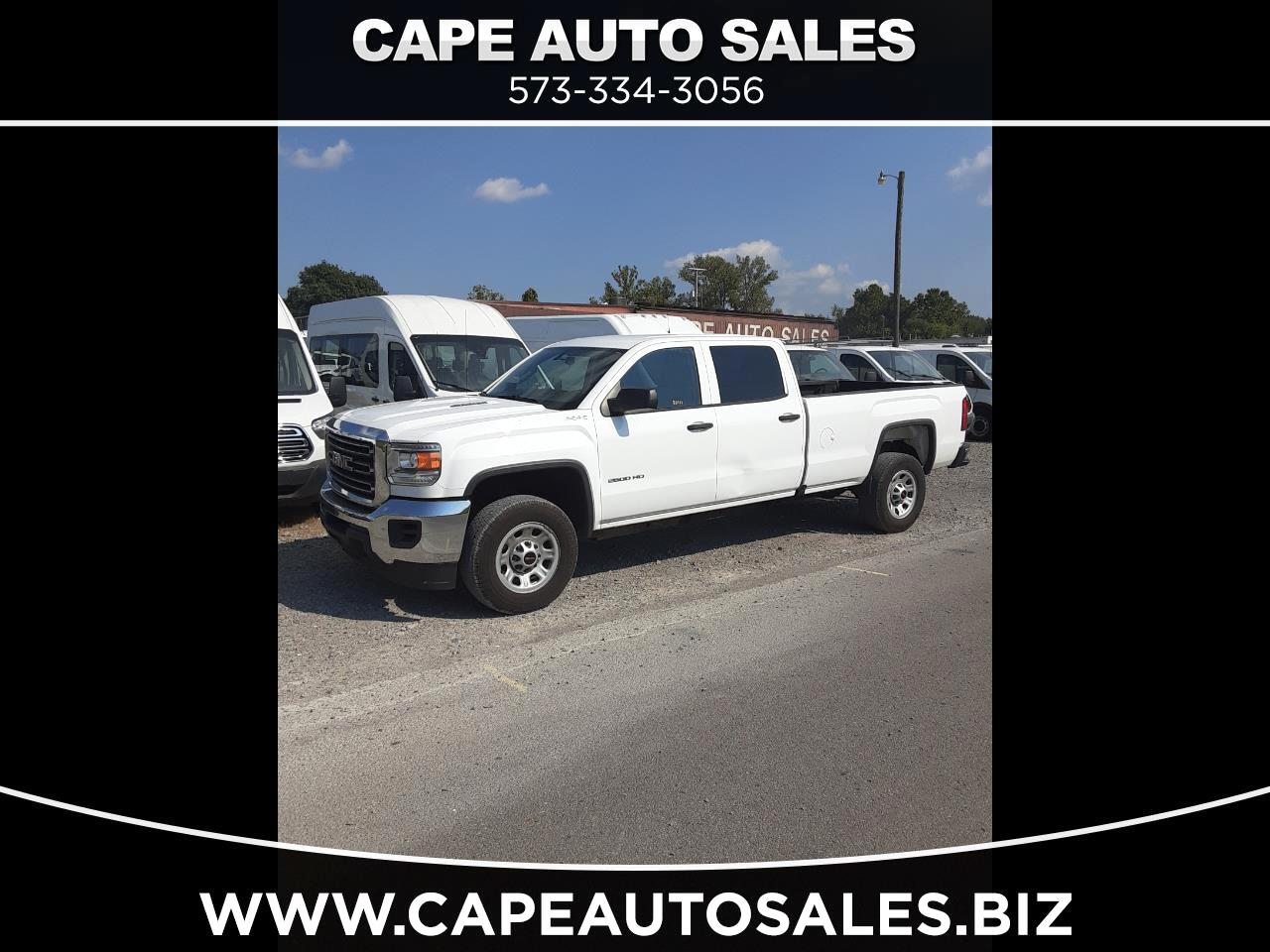 GMC Sierra 2500HD Base Crew Cab 4WD 2016