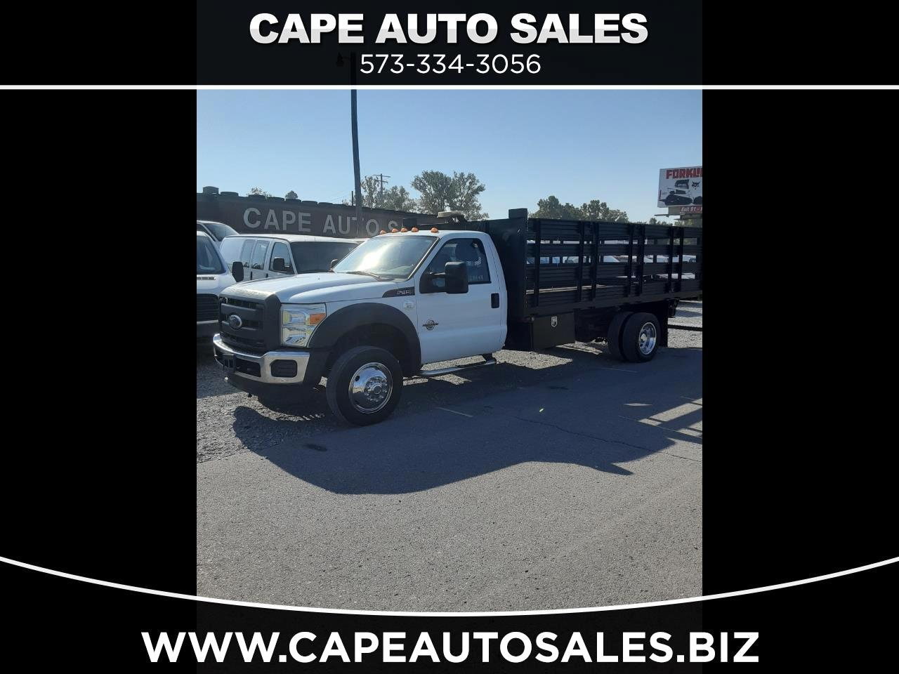 Ford F-450 SD Regular Cab DRW 2WD 2015