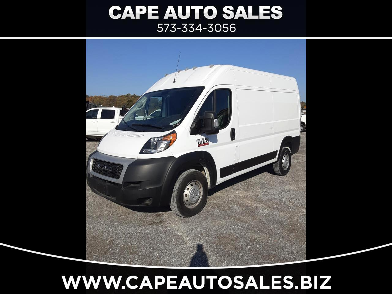 RAM Promaster 1500 High Roof 136-in. WB 2020