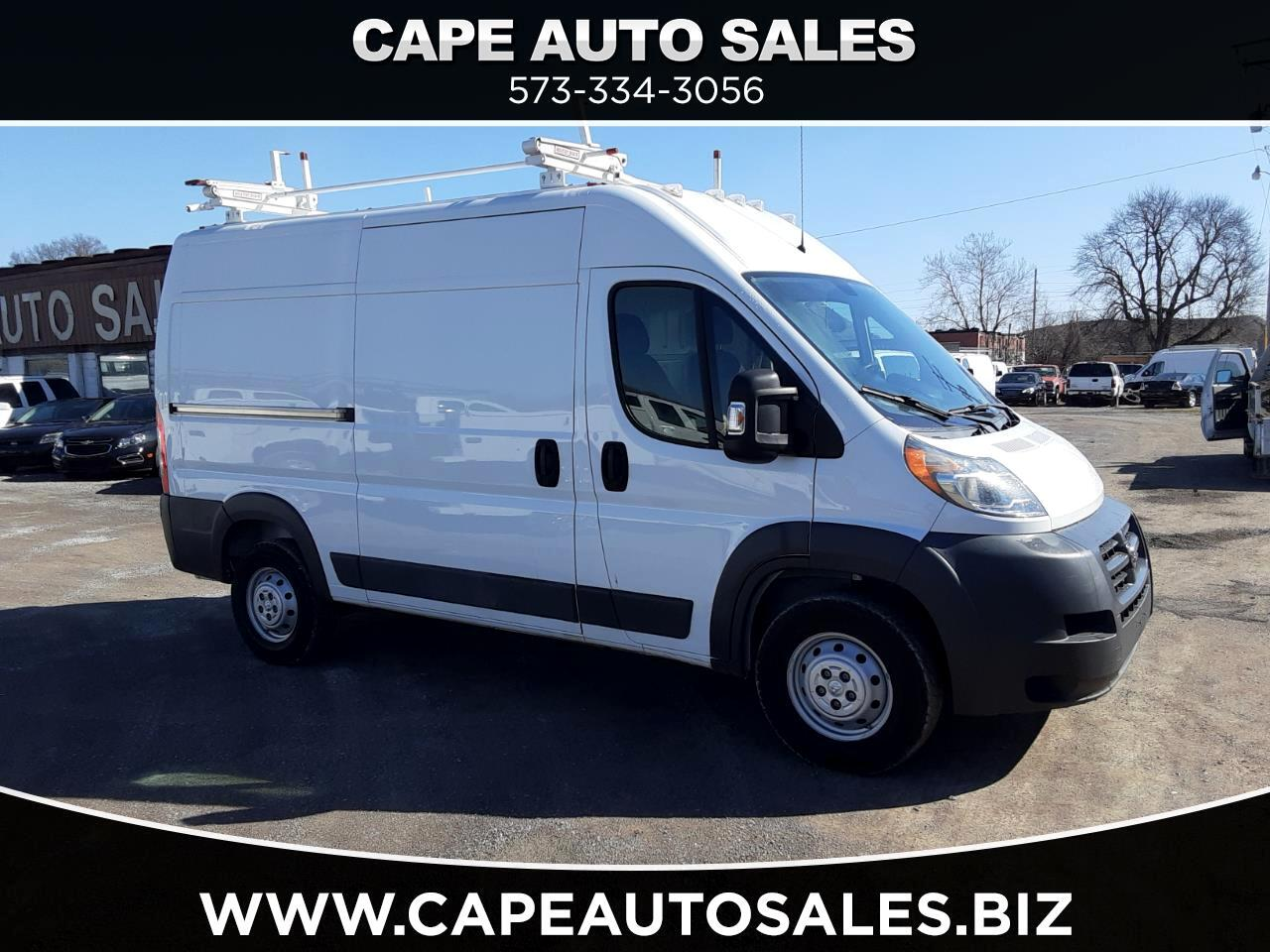 RAM Promaster 2500 High Roof Tradesman 136-in. WB 2016