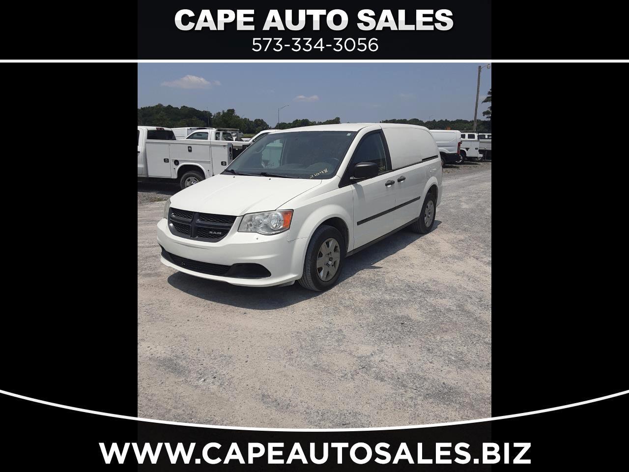 Dodge Cargo Van Base 2013