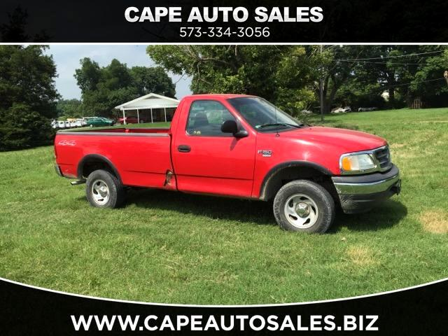 2002 Ford F-150 XL Reg. Cab Long Bed 4WD