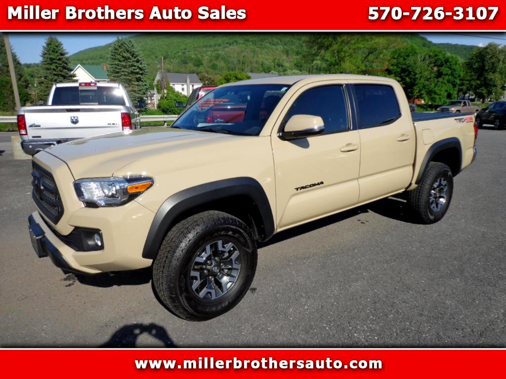2016 Toyota Tacoma 4WD Double Cab V6 AT TRD Off Road (Natl)