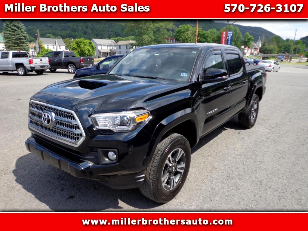 2017 Toyota Tacoma 4WD Double Cab V6 MT TRD Sport (Natl)