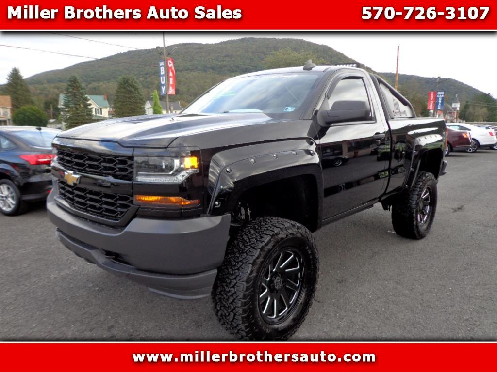 2017 Chevrolet Silverado 1500 Work Truck Short Box 4WD