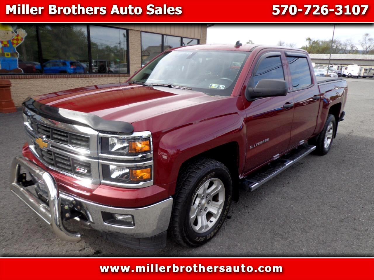 Used Cars For Sale Mill Hall Pa 17751 Miller Brothers Auto Sales 1991 Chevrolet Crew Cab 2014 Silverado 1500 1lt 4wd