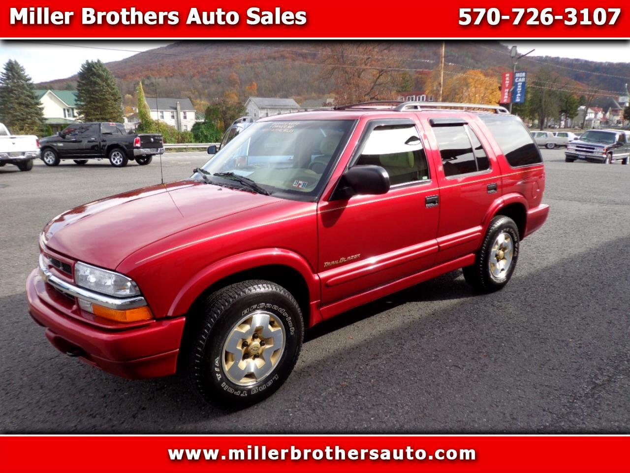 2001 Chevrolet Blazer TrailBlazer 4WD