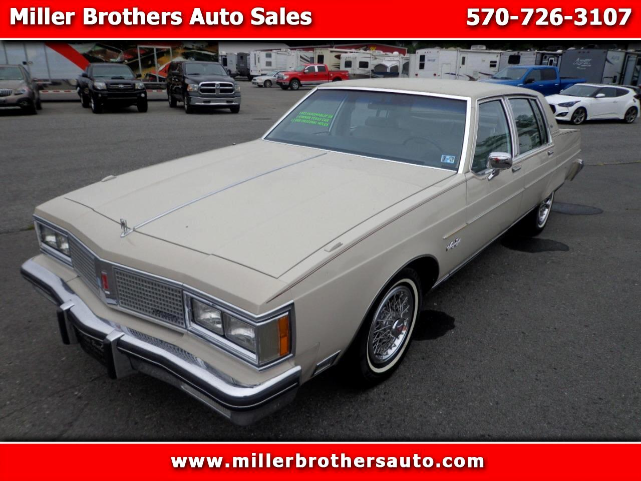 1983 Oldsmobile Ninety Eight Regency Brougham