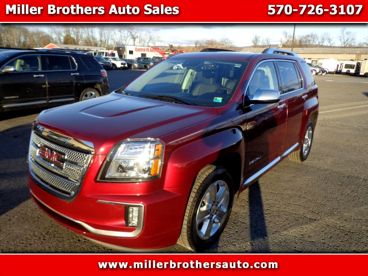 Used Cars For Sale Mill Hall Pa 17751 Miller Brothers Auto Sales 2012 Gmc Terrain Fuel Filter 2017 Awd 4dr Denali