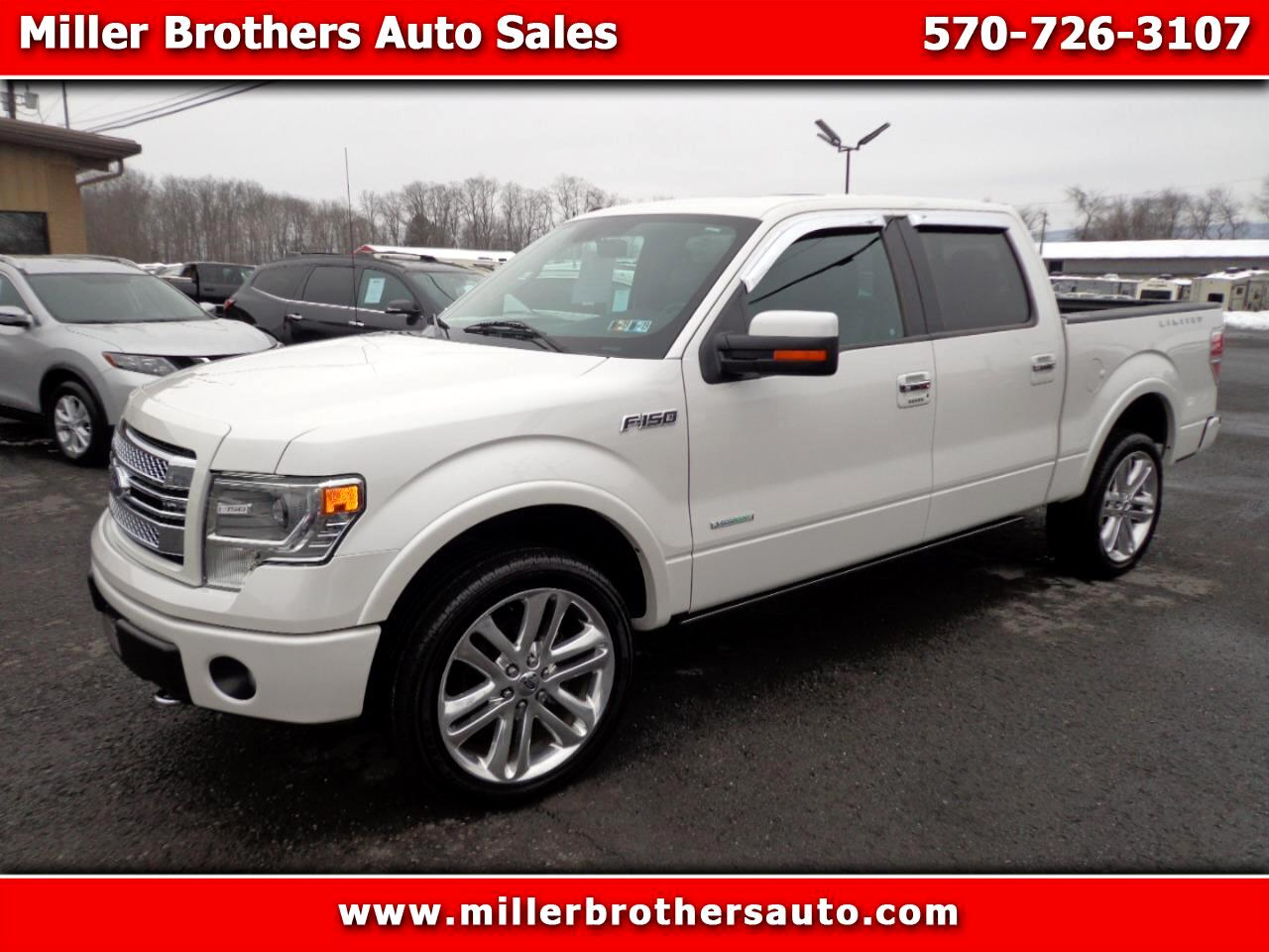 "2014 Ford F-150 AWD SuperCrew 139"" Limited"