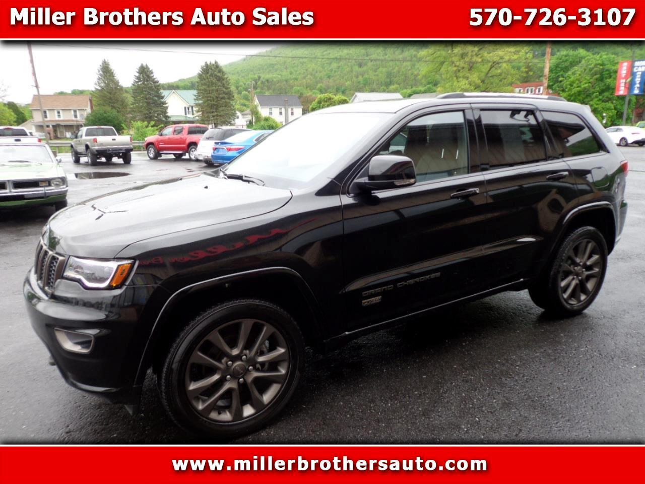 2016 Jeep Grand Cherokee 4WD 4dr Limited 75th Anniversary