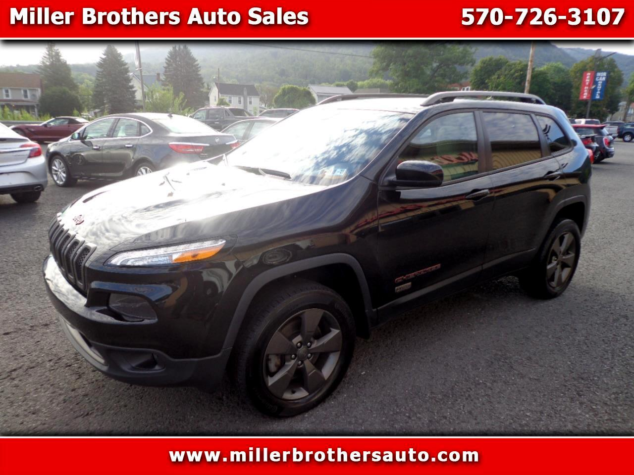 Jeep Cherokee 4WD 4dr 75th Anniversary 2016