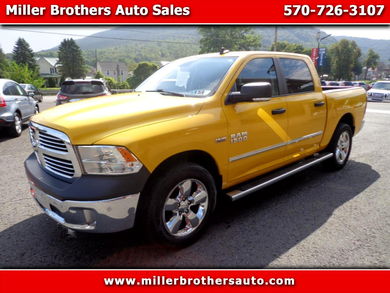 "RAM 1500 Big Horn 4x4 Crew Cab 5'7"" Box 2016"