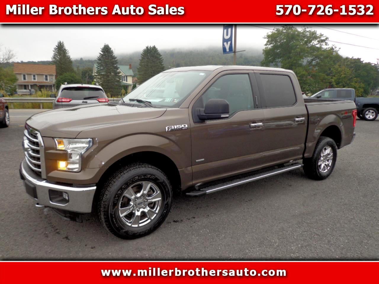Ford F-150 XLT 4WD SuperCrew 5.5' Box 2016