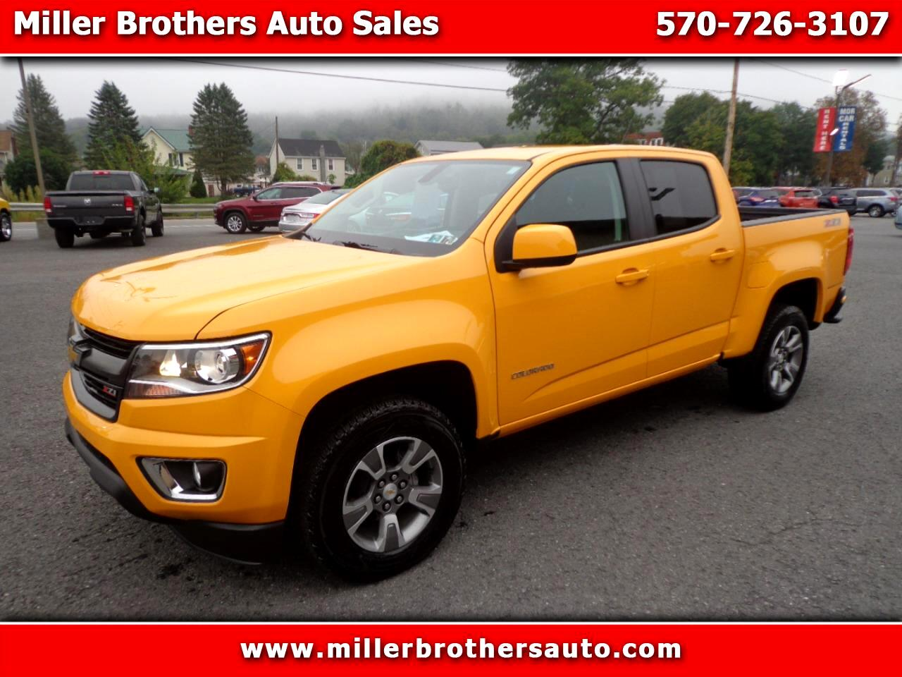 Chevrolet Colorado Z71 Crew Cab 4WD Short Box 2018