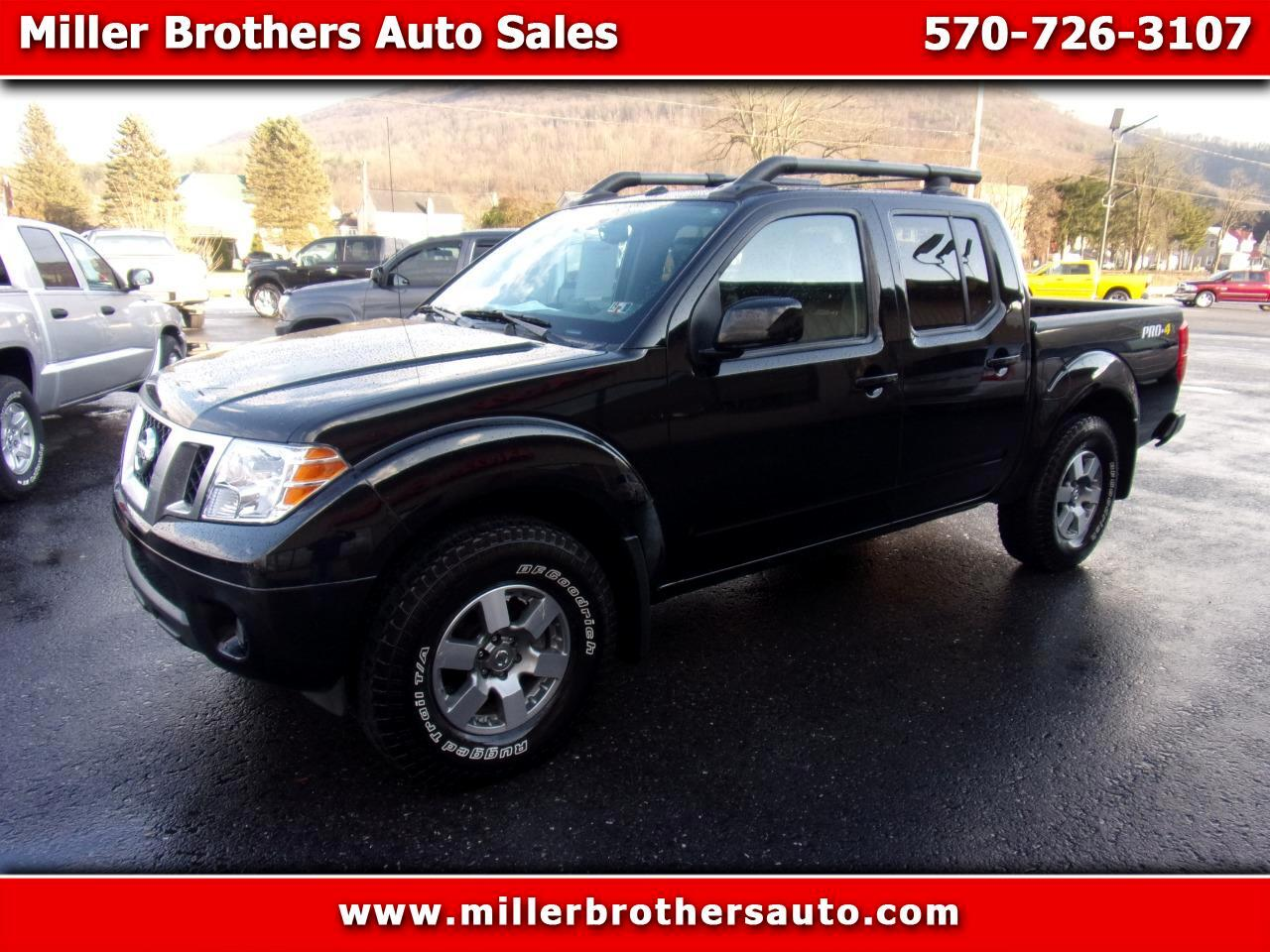 Nissan Frontier PRO-4X Crew Cab 4WD 2013