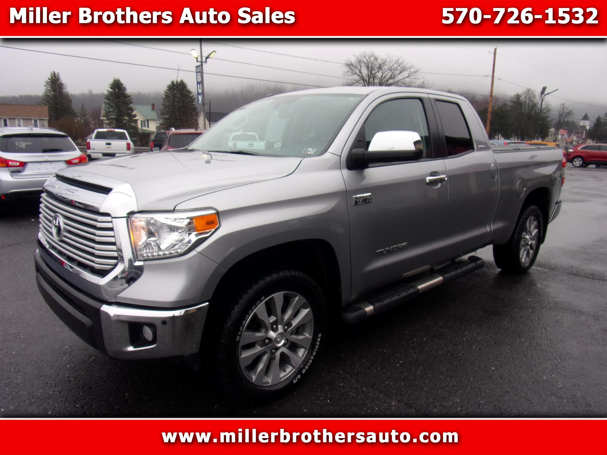 Toyota Tundra 4WD Limited Double Cab 6.5' Bed 5.7L (Natl) 2017