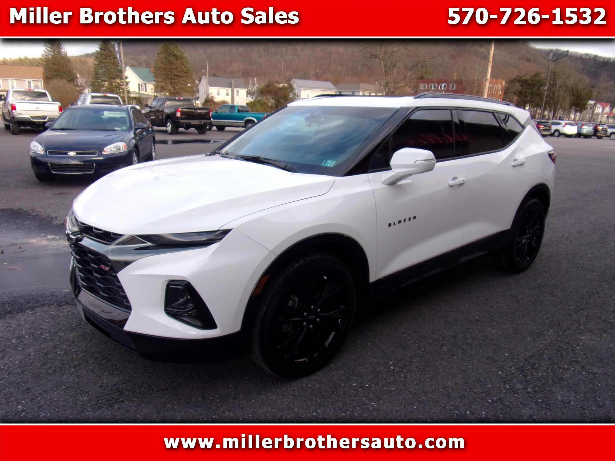 Chevrolet Blazer AWD 4dr RS 2019