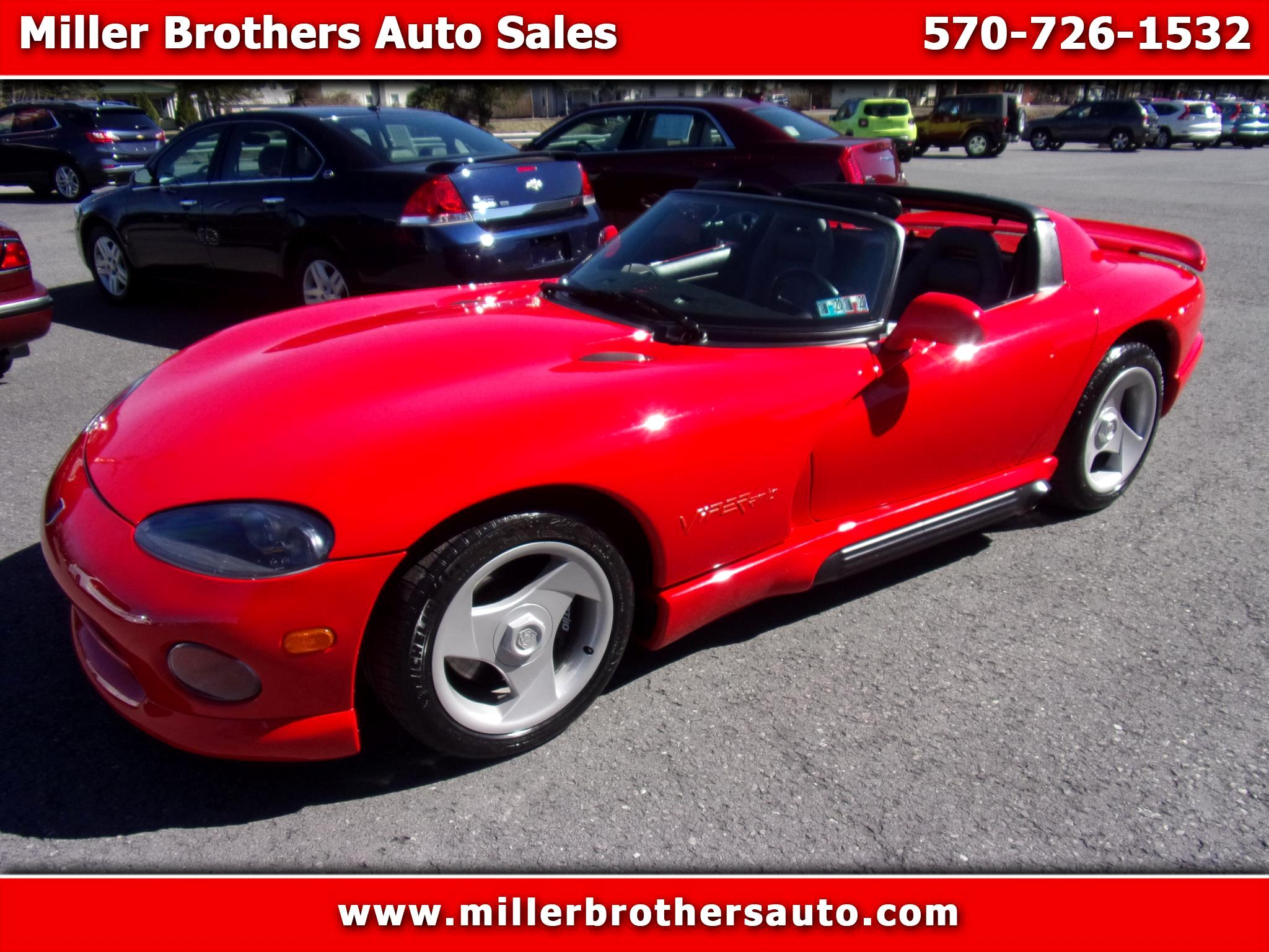 Dodge Viper 2dr Open Sports Car 1994