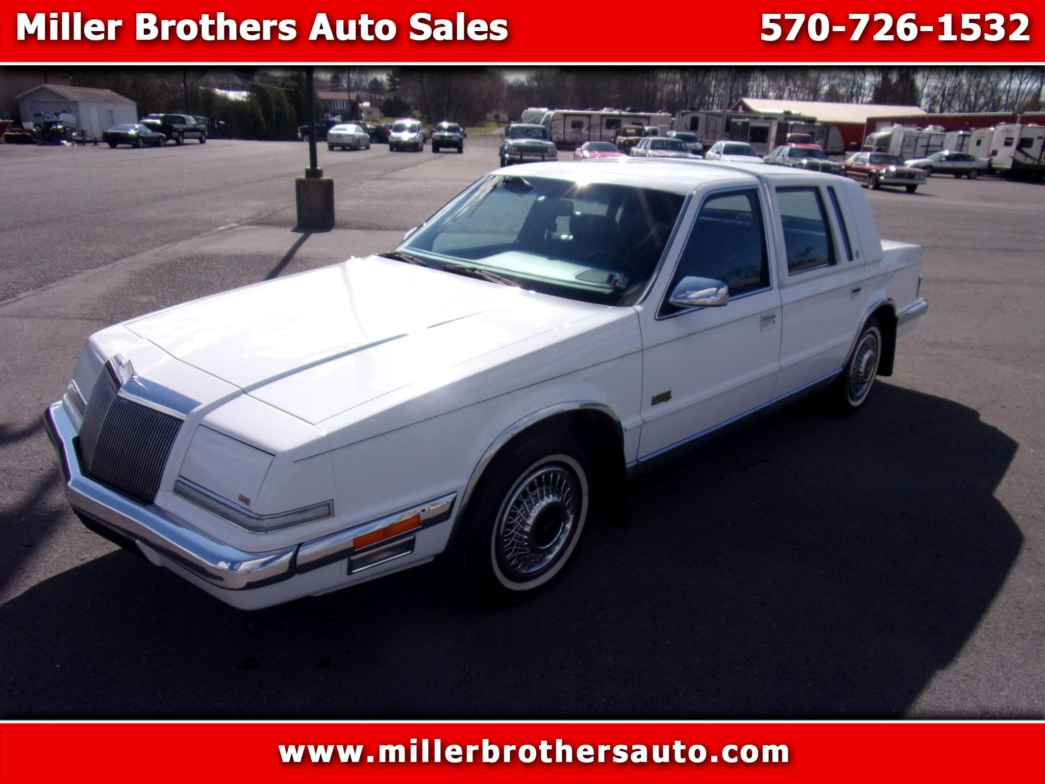 Chrysler Imperial 4dr Sedan 1990
