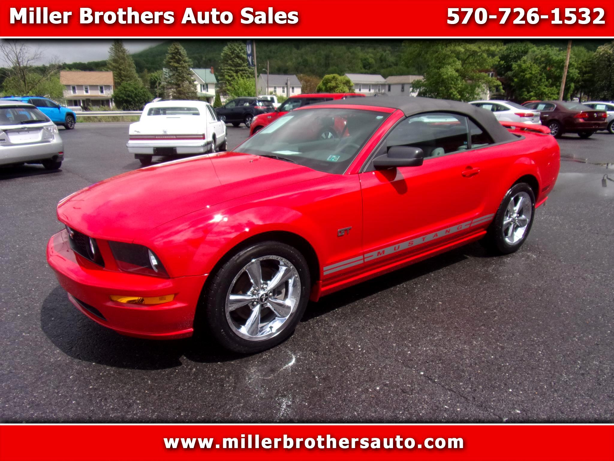 Ford Mustang 2dr Conv GT Deluxe 2008