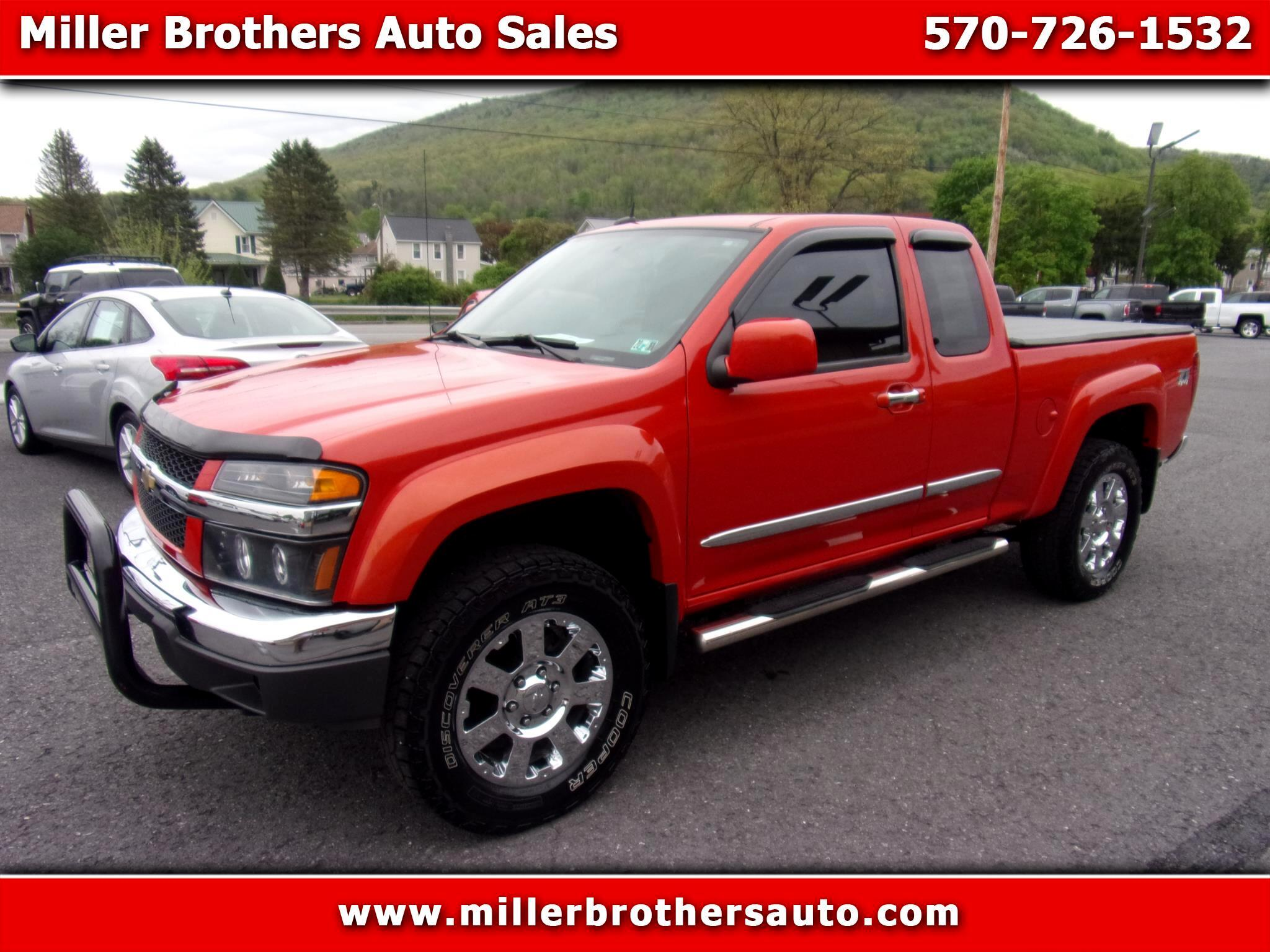 Chevrolet Colorado 4WD Ext Cab LT w/2LT 2012
