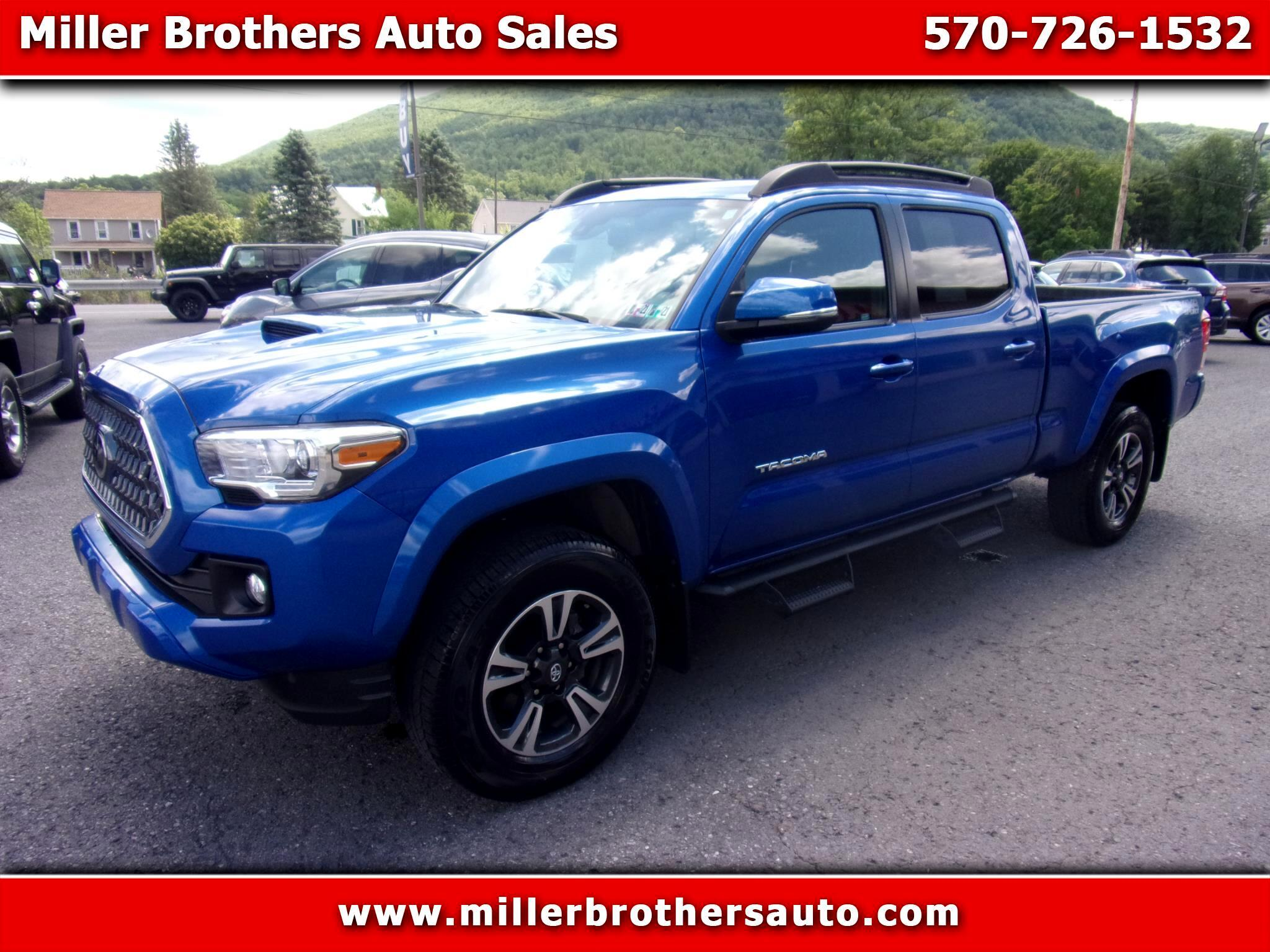 Toyota Tacoma TRD Sport Double Cab 6' Bed V6 4x4 AT (Natl) 2018