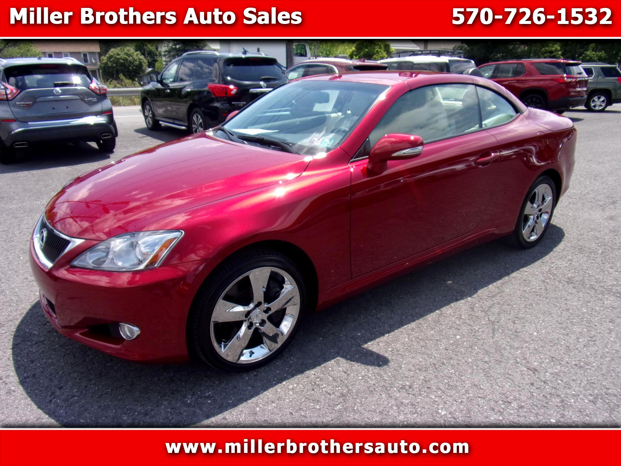 Lexus IS 350C 2dr Conv 2010