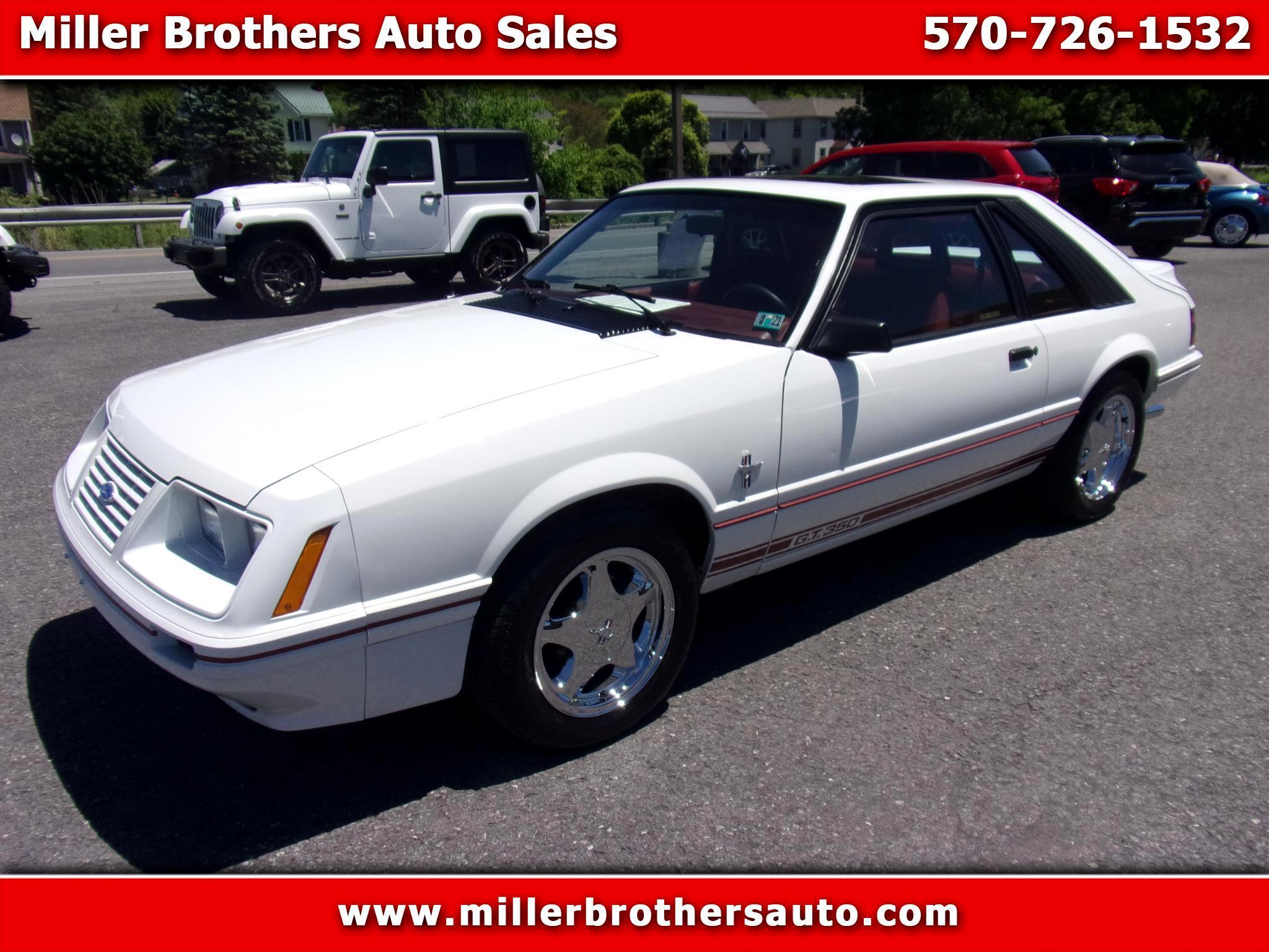 Ford Mustang 3dr Hatchback GT 1984