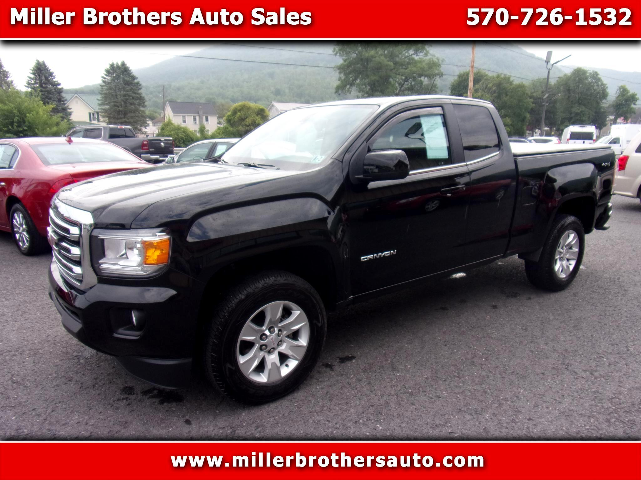 "GMC Canyon 4WD Ext Cab 128.3"" SLE 2018"