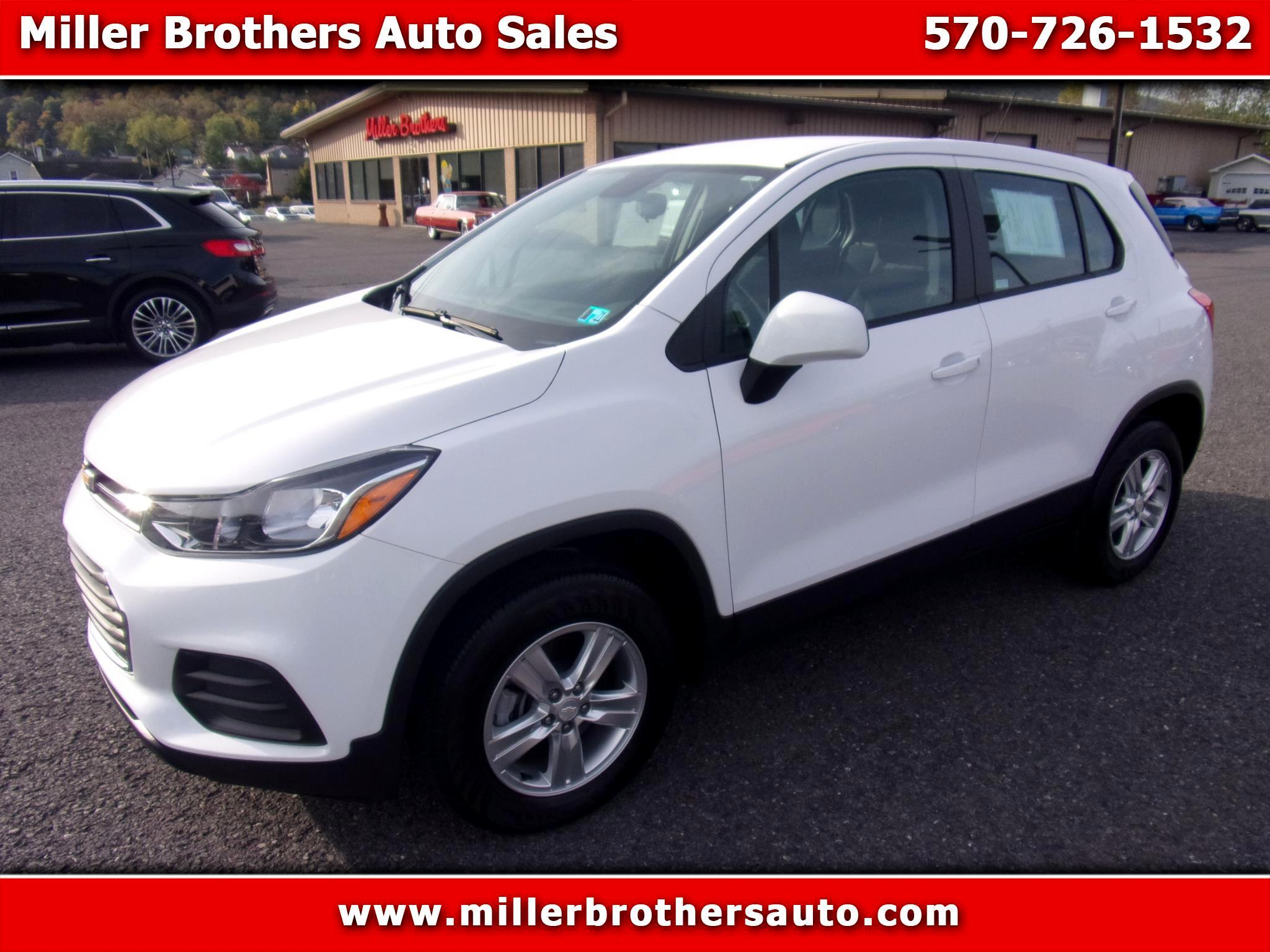 Chevrolet Trax AWD 4dr LS 2018