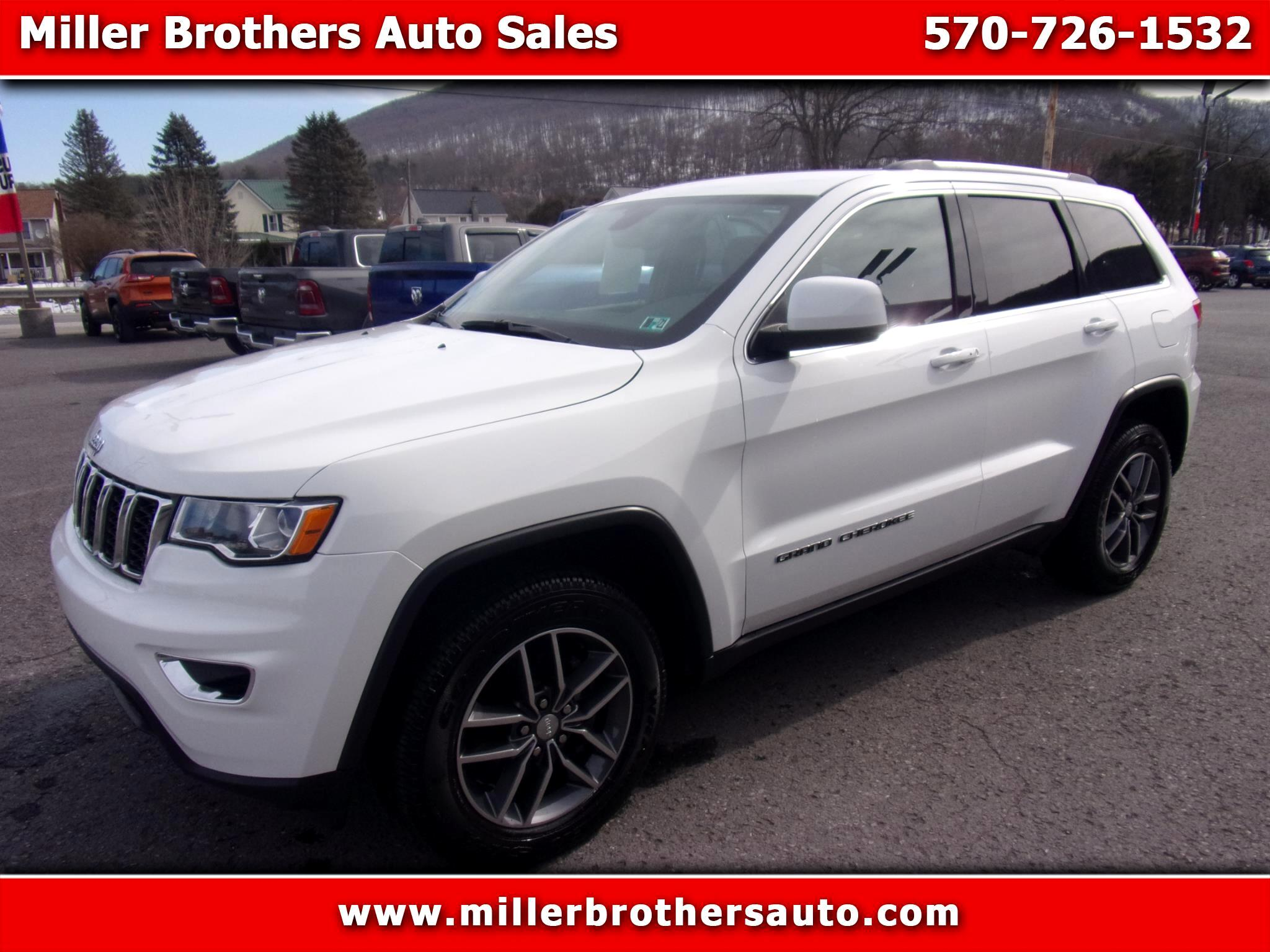 Jeep Grand Cherokee Laredo E 4x4 *Ltd Avail* 2018