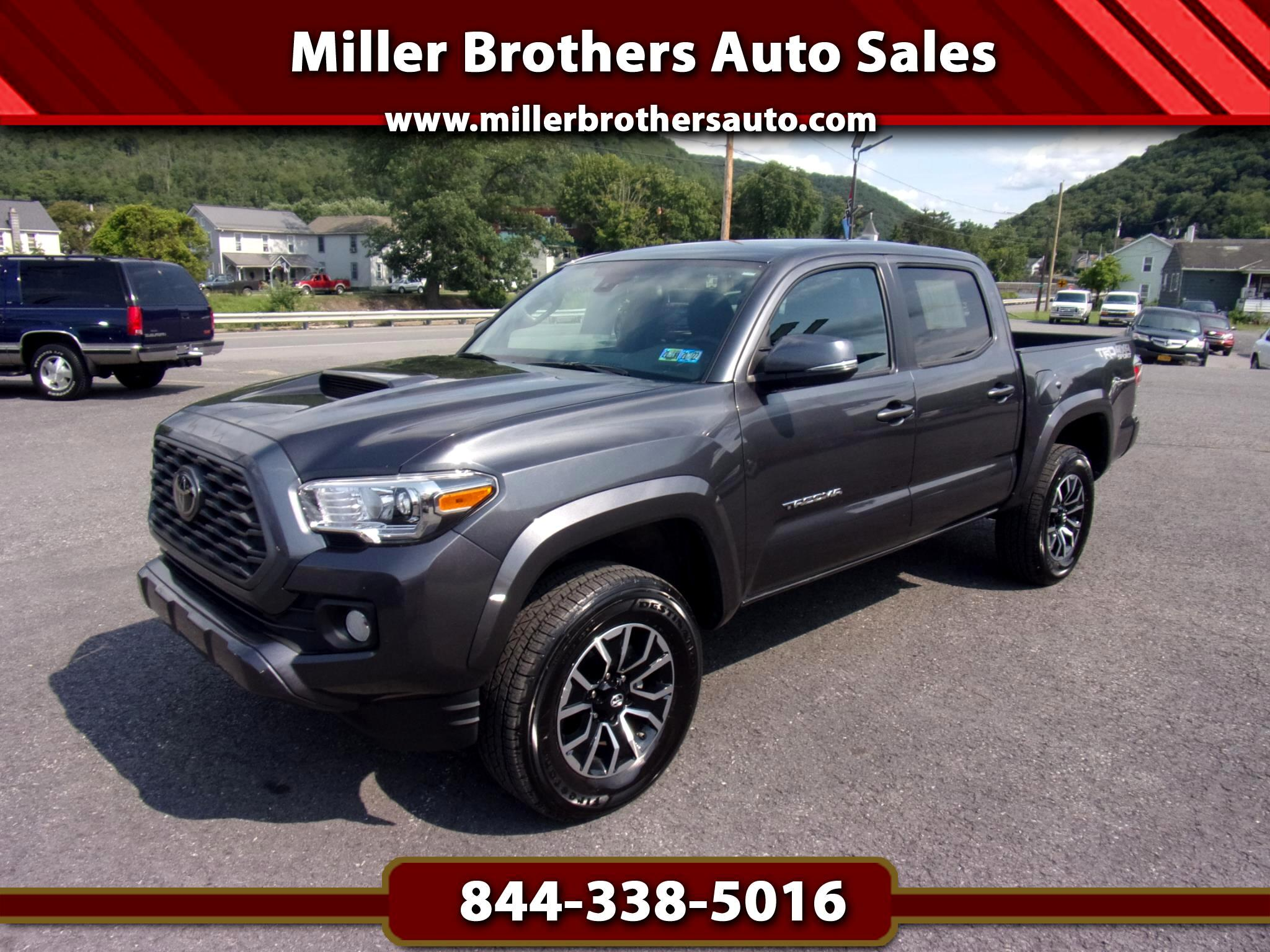 Toyota Tacoma 4WD TRD Sport Double Cab 5' Bed V6 AT (Natl) 2021