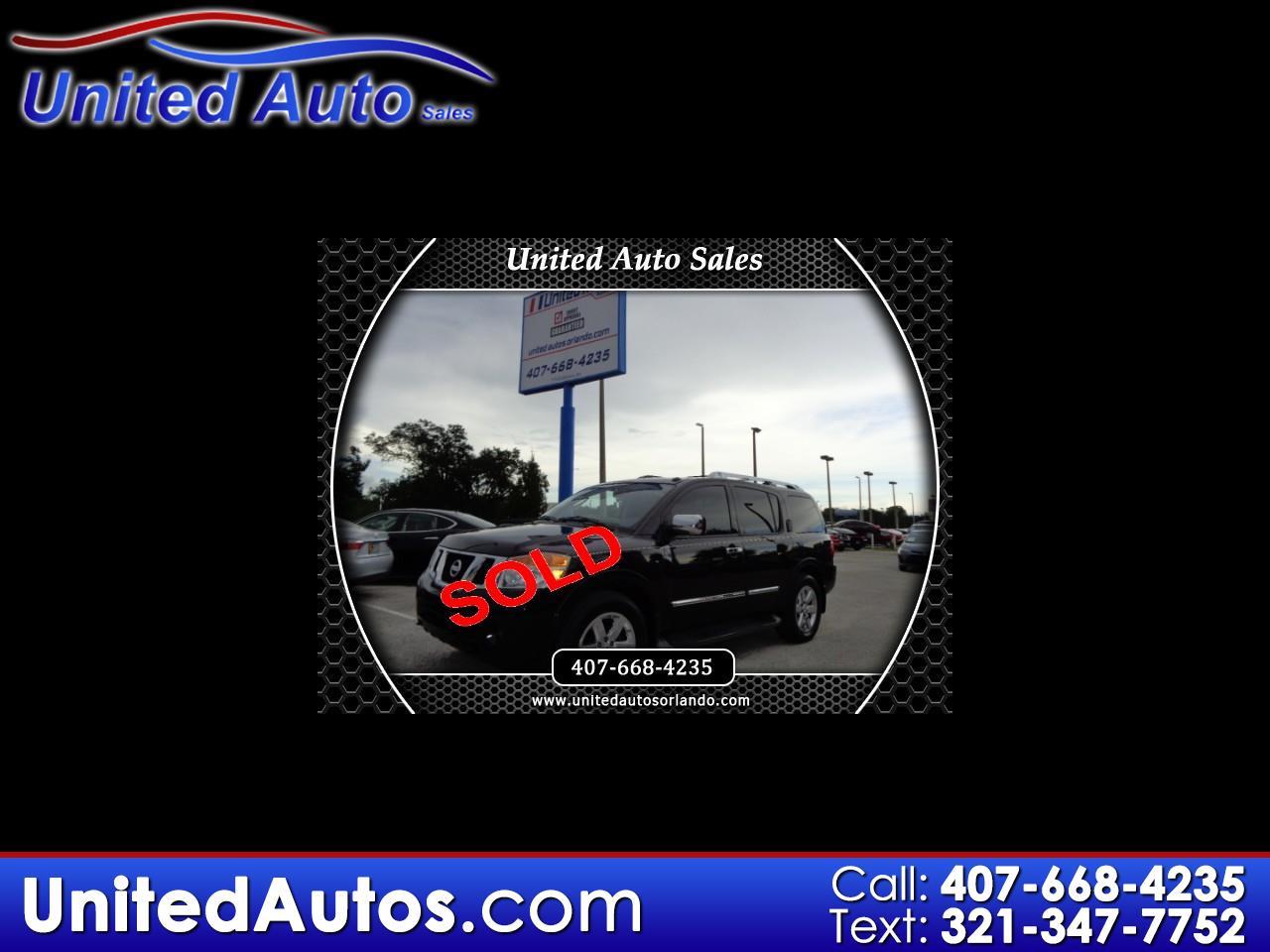 2010 Nissan Armada Platinum 2WD