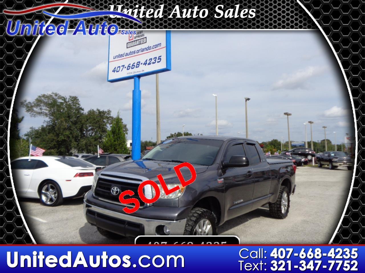 2011 Toyota Tundra 2WD Truck Dbl 5.7L V8 6-Spd AT  (Natl)