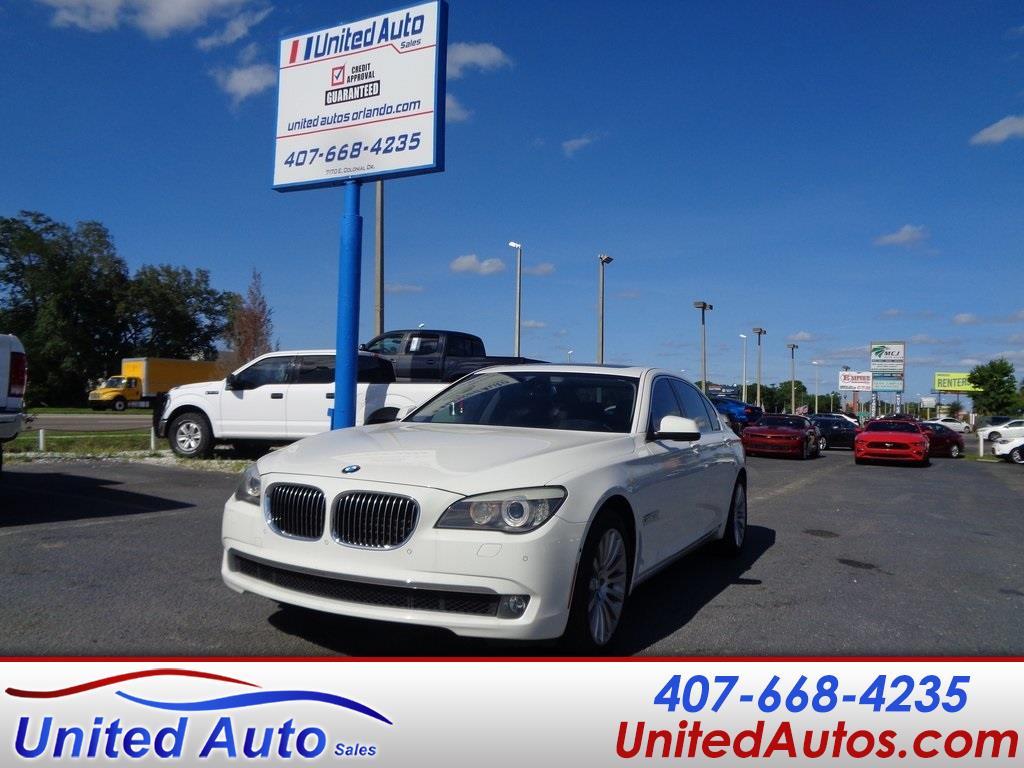 BMW 7 Series 4dr Sdn 750Li RWD 2012