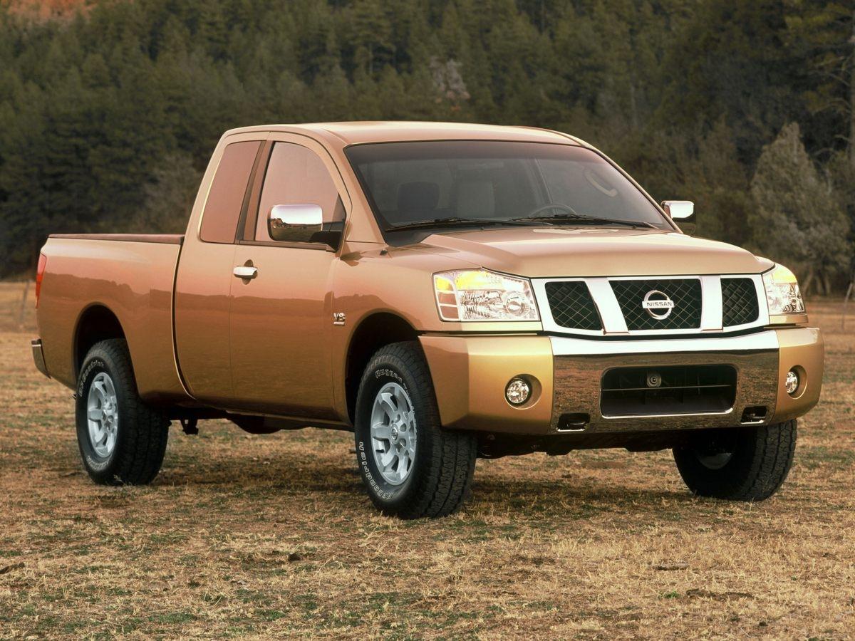 Nissan Titan LE Crew Cab 4WD 2004