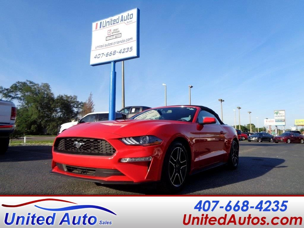Ford Mustang 2dr Conv EcoBoost Premium 2019