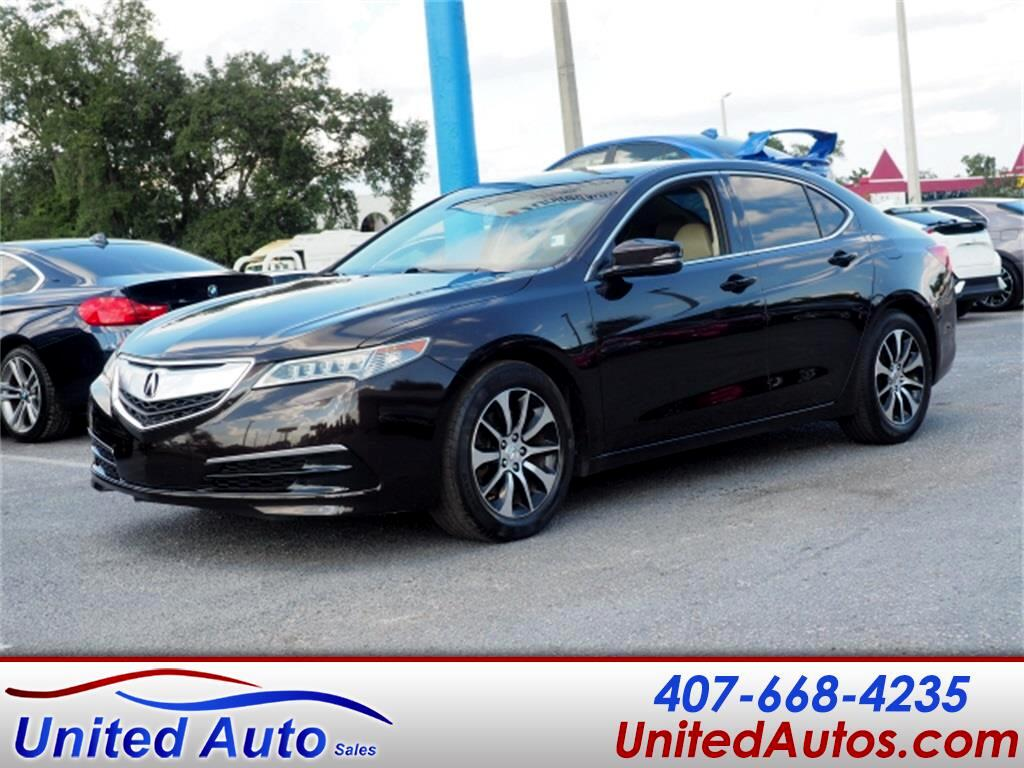 Acura TLX Technology Package 2.4L 2015