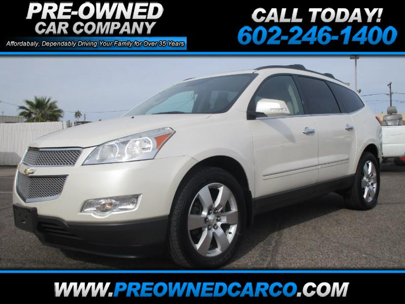 buy here pay here 2011 chevrolet traverse ltz awd for sale in phoenix az 85017 pre owned car company. Black Bedroom Furniture Sets. Home Design Ideas