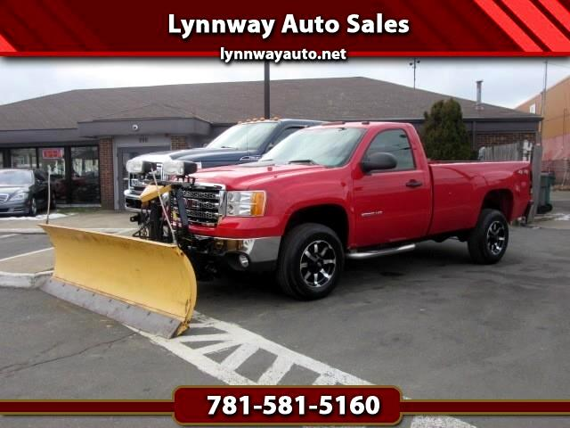 GMC Sierra 2500HD Work Truck Long Box 4WD 2013