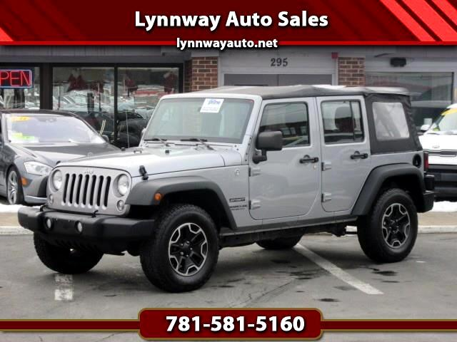 Jeep Wrangler Unlimited Unlimited Sport 4WD 2014