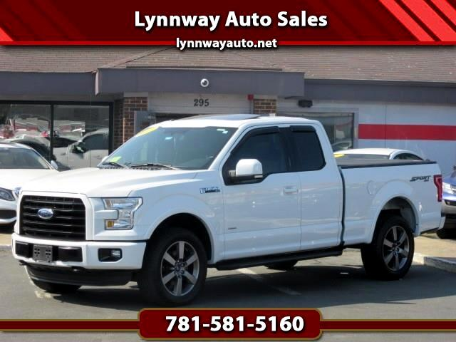 "Ford F-150 4WD SuperCab 163"" Lariat w/HD Payload Pkg 2015"